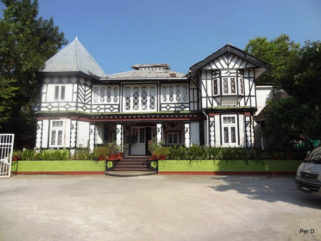 Aung San Suu Kyis föräldrahem