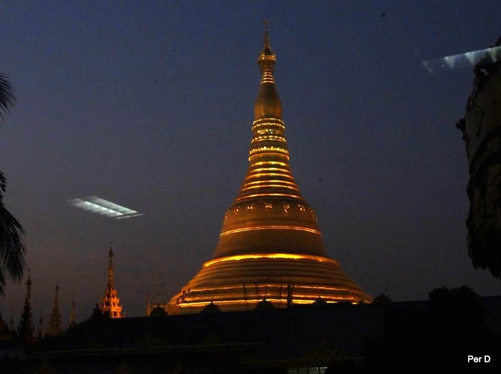 Myanmar Shwedagon Pagoda