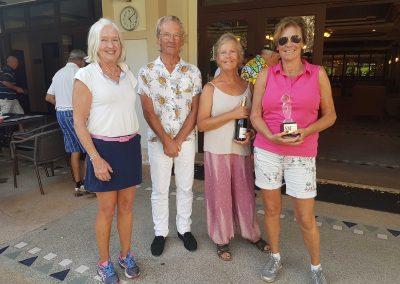 Dammästerskap i Golf, vinnare i damklassen och Golfsektionens representant