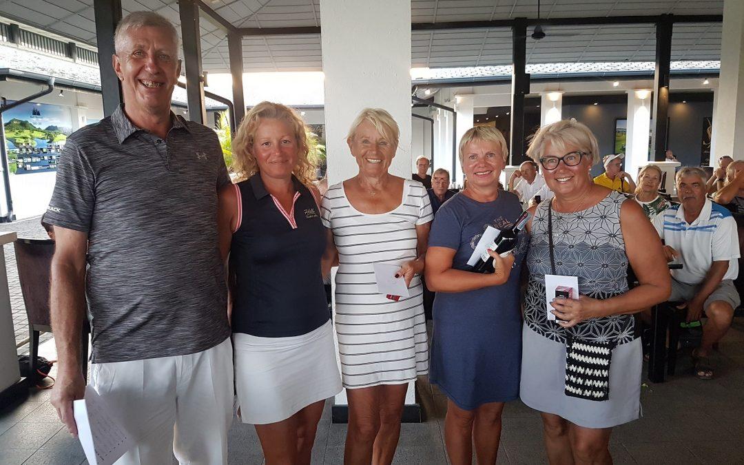 Nordiska golfmästerskapet 26 februari 2019