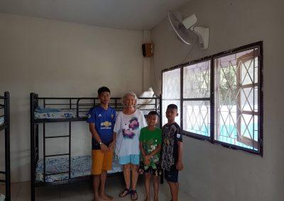 Barn från barnhemmet och Ami